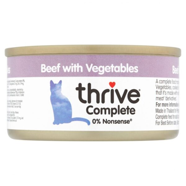 Thrive beef with veg 75g wet