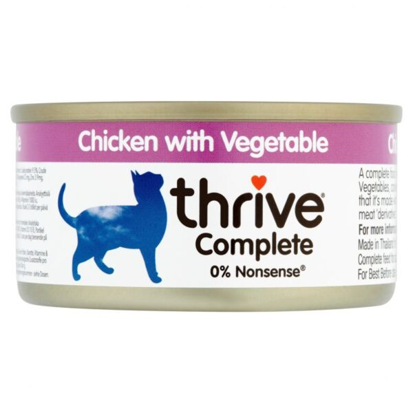 Thrive chicken and veg 75g wet