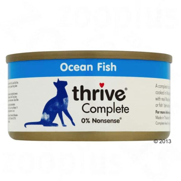 Thrive ocean fish 75g wet