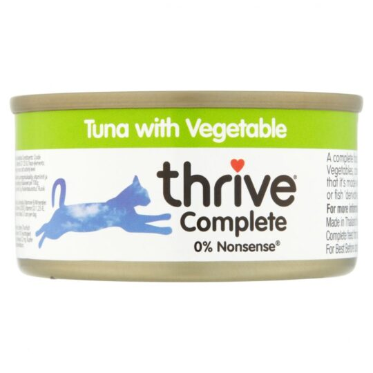 Thrive tuna and veg 75g wet 1