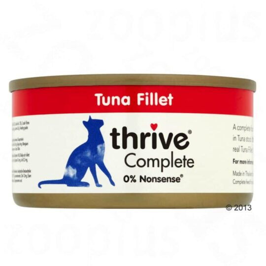 Thrive tuna fillet 75g wet 1