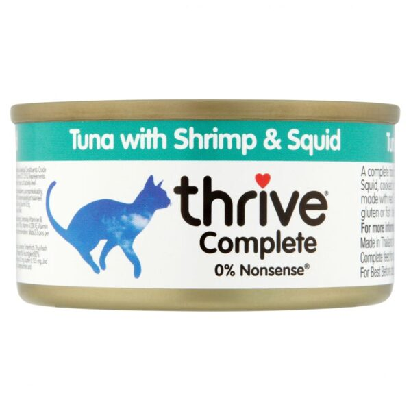 Thrive tuna with shrimp and fish wet 75g 1